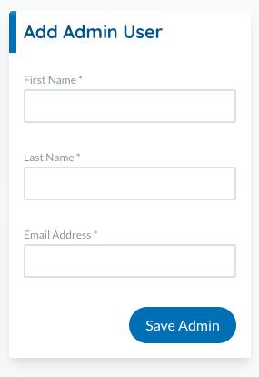 add admin user